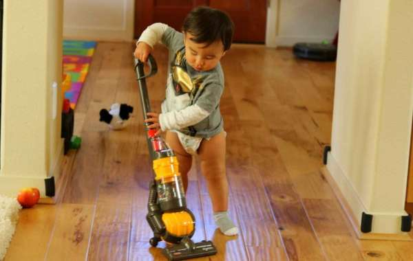 Fun Vacuuming with Kids